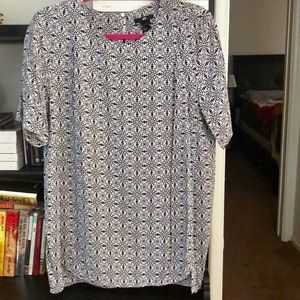 H&M patterned tunic